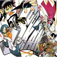 Air Gear - OST I - Cover from Amazon.co.jp