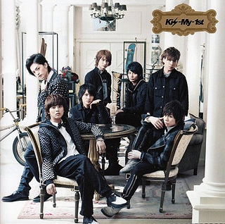 Kis-my-1st Album Cover