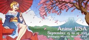 Anime USA 2013 banner