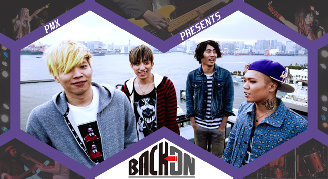 PMX presents BACK-ON banner