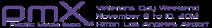 PMX 2013 website banner